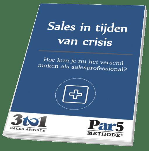 sales in tijden van crisis