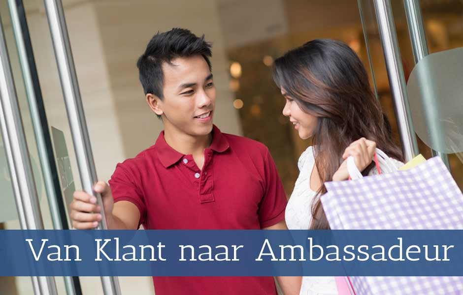 Workshop van klant van ambassadeur