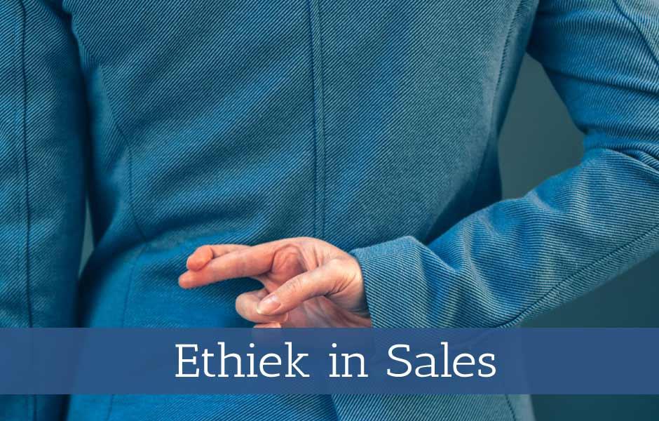 Workshop Ethiek in sales