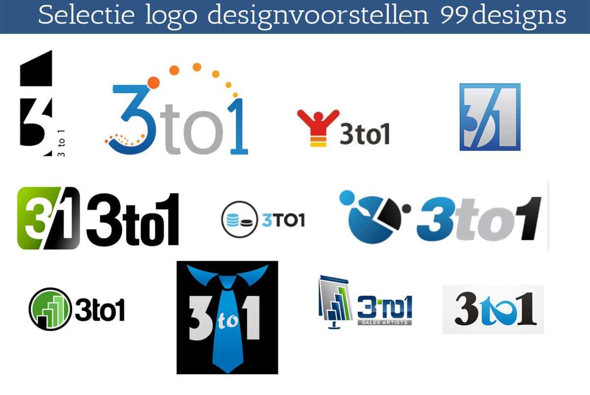 3to1 logos voorstellen